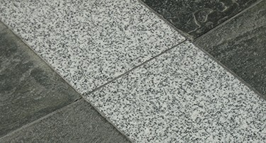 Flooring slate with natural flat and trondhjemite