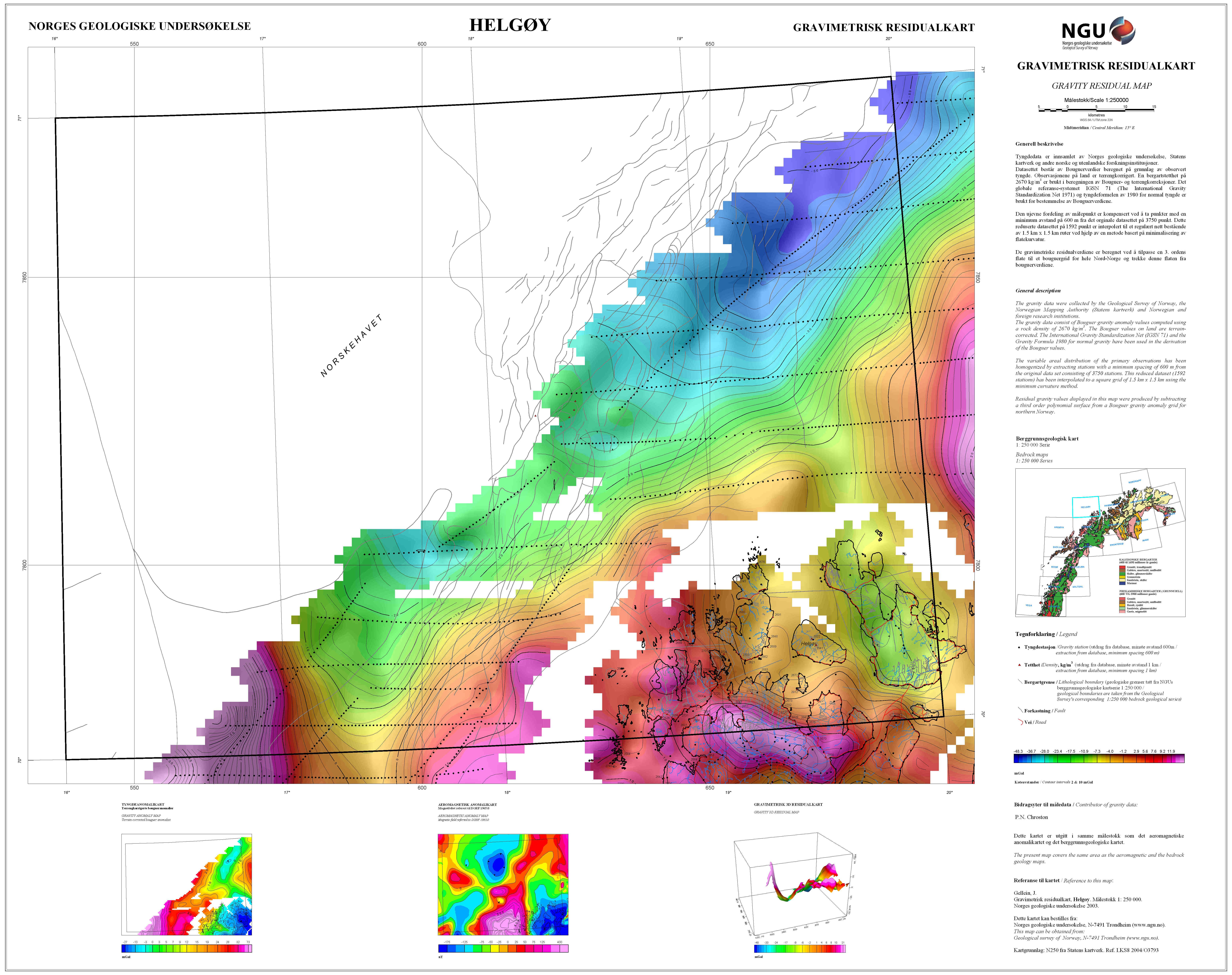 radon trondheim kart Tyngdeanomalikart | Norges geologiske undersøkelse radon trondheim kart