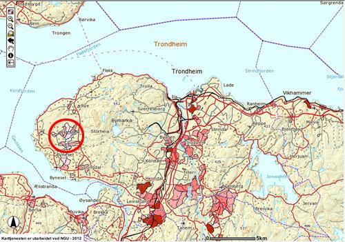 Kvikkleireskred I Trondheim Norges Geologiske Undersokelse