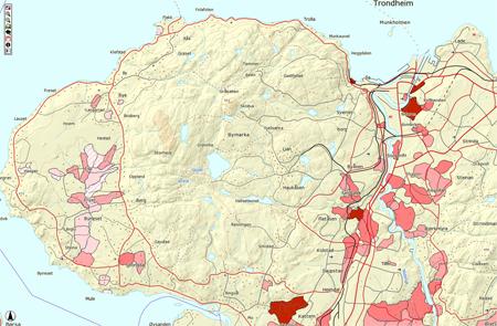 topografisk kart trondheim Dette er kvikkleire og kvikkleirekart | Norges Geologiske Undersøkelse topografisk kart trondheim