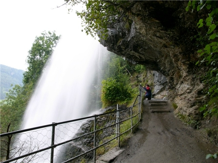 Steindal waterfall